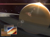 Saturn Observation 3D Screensaver