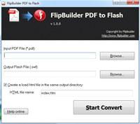 FlipBuilder PDF to Flash