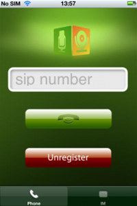 Video VoIP SIP SDK for iPhone screenshot medium
