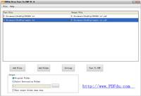 PDFdu Free Text To PDF Converter