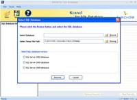 Restore SQL Database Software