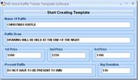 MS Word Raffle Tickets Template Software screenshot medium