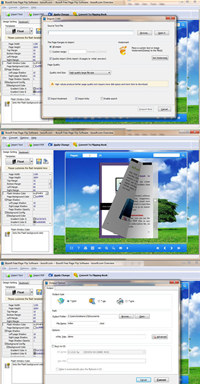 Boxoft Free Page Flip Software screenshot medium