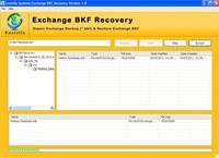 Exchange BKF Restore Software