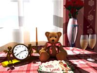 Saint Valentine s 3D Screensaver