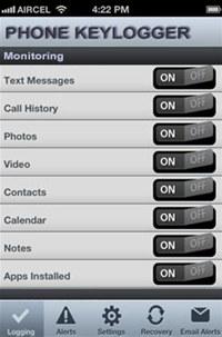Phone Keylogger