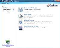 FarStone DriveClone Server screenshot medium