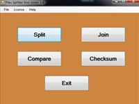 KrojamSoft File Splitter And Joiner