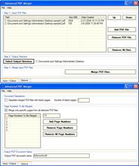 Advanced PDF Merger