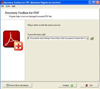 PDF Recovery Toolbox screenshot medium