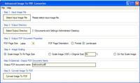 Advanced Image To PDF Converter screenshot medium