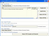 Advanced PDF Encryption Remover