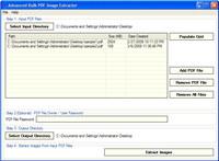 Advanced Bulk PDF Image Extractor