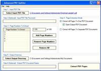 Advanced PDF Splitter