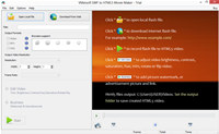 AST SWF to HTML5 Converter screenshot medium