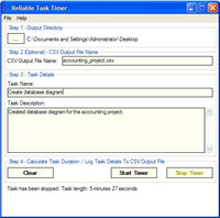 Reliable Task Timer
