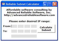 Reliable Subnet Calculator