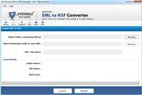 Migrate EML to NoSQL Lotus Notes