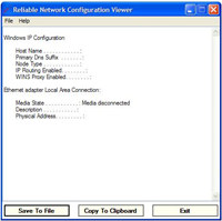 Reliable Network Configuration Viewer