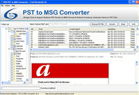Convert PST to MSG Files