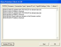 Dynu Premium Dynamic DNS Client screenshot medium