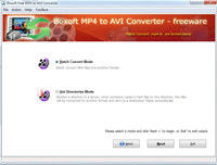 Boxoft MP4 to MPG Freeware