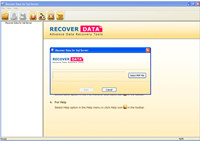 Recover Data for SQL Database Recovery