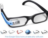 Free Google Glass Icon Set