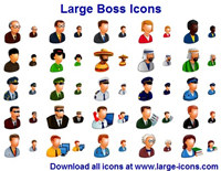 Free Large Boss Icons
