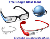 Free Google Glass Icons screenshot medium
