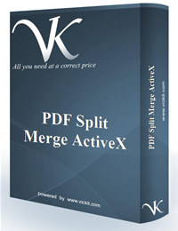 PDF Split Merge ActiveX screenshot medium