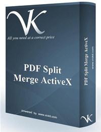 PDF Split Merge ActiveX
