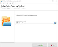 NSF Open File Tool screenshot medium