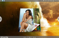 Wave Style Theme for 3D Book