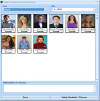 Student Attendance Recorder Software