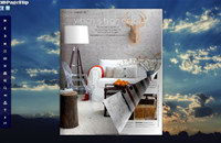Dawn Style Theme for 3D Book