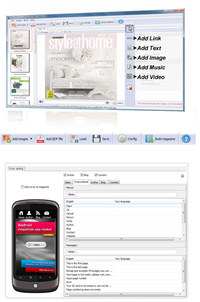 Flip PDF for Android Tablet