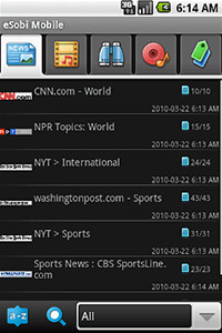 eSobi Mobile for Android