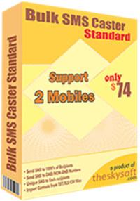 Bulk SMS Caster Standard