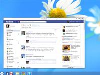 Facebook App for Pokki