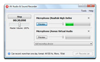 AV Audio & Sound Recorder