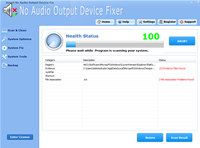 Smart No Audio Output Device Fixer Pro