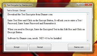Text Encryption Software