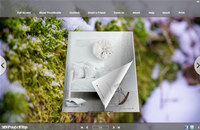 Green Cover Style Theme for 3D Book