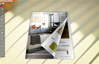 White Style Theme for 3D Book