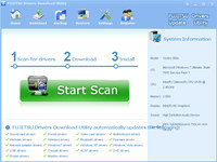 FUJITSU Drivers Download Utility screenshot medium