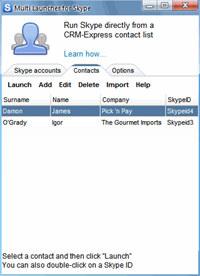 Multi Launcher for Skype
