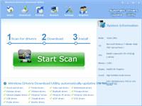 Wireless Drivers Download Utility screenshot medium