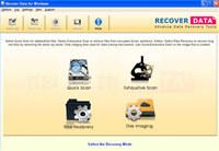 Data recovery software windows NTFS