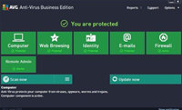 AVG AntiVirus Business Edition screenshot medium